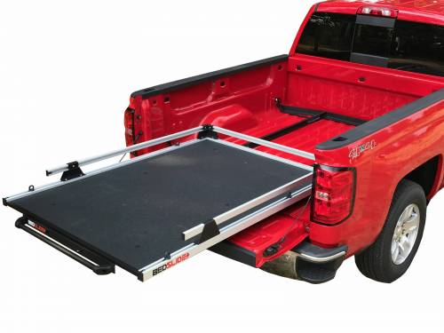 Bedslide - GM SILVERADO & SIERRA 2019 5.8' bed NO-DRILL FACTORY MOUNT INSTALL KIT