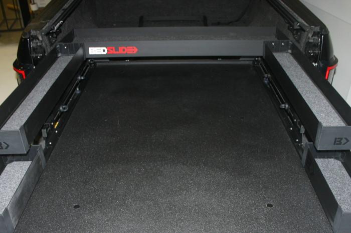 """Bedslide - BEDSLIDE BLACK BEDBIN UPPER TRAY 58"""" - Image 1"""