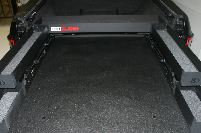 "Bedslide - BEDSLIDE BLACK BEDBIN UPPER TRAY 58"""