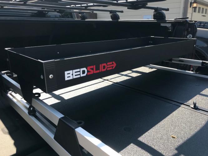 """Bedslide - BEDSLIDE BLACK BEDBIN UPPER TRAY 48"""" - Image 1"""