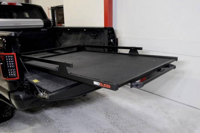 """BEDSLIDE 1500 BLACK CONTRACTOR 78"""" X 48"""" - Image 1"""