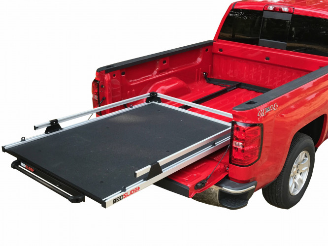 Bedslide - GM SILVERADO & SIERRA 2019 5.8' & 6.6' NO-DRILL FACTORY MOUNT INSTALL KIT - Image 1