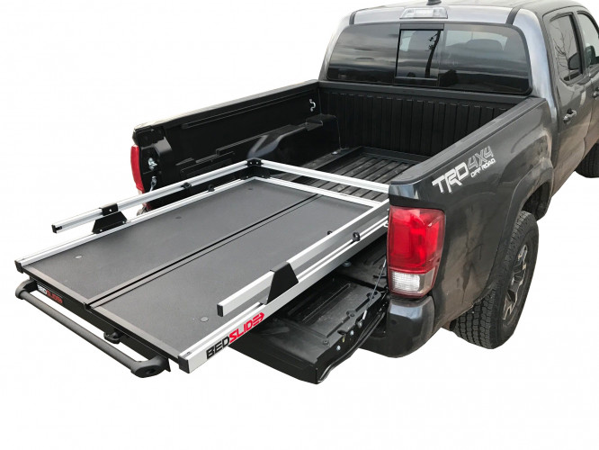 Bedslide - TOYOTA TACOMA 16-19 5' BED NO-DRILL FACTORY MOUNT INSTALL KIT - Image 1
